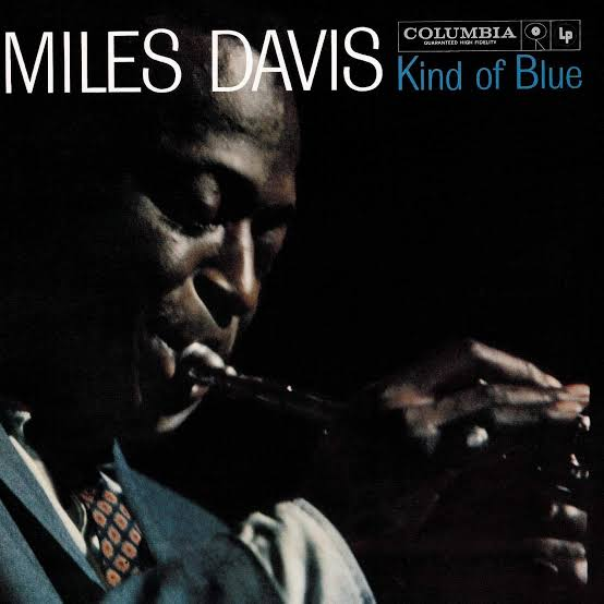 kind of blue miles davis Art Work